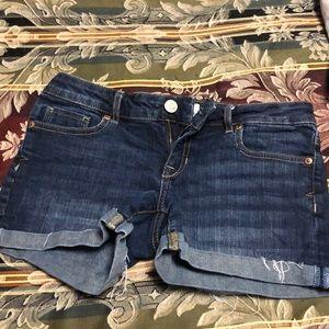 3/$22 Aeropostale Jean Shorts size 3/4